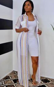 Perspective, mesh, breathable, sunscreen, shirt, short sleeve dress