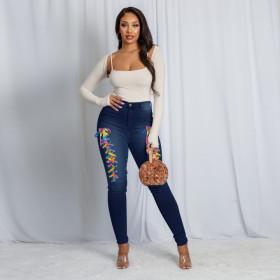 Fashion, bandage, jeans, leggings