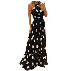 Neck, sling, bohemian, print, dress