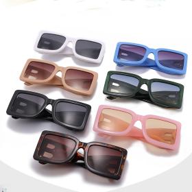 B-shaped legs, big box, sunglasses