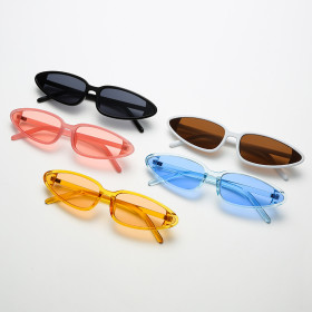 Small frame, cat's Eye Sunglasses, candy color, sunglasses