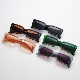 Retro, square, small frame, sunglasses