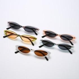 Small frame, sunglasses, sunglasses, male
