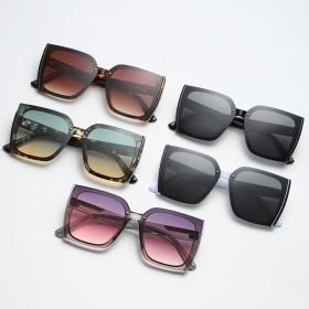Big frame, square, sunglasses, gradients