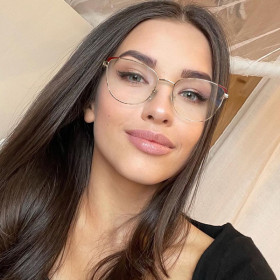 Full frame, metal, blue light proof, glasses