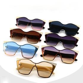 Metal, sunglasses, hollow pattern, sunglasses