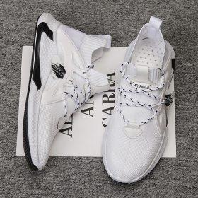New Men's Sneakers Breathable Men Shoes 2021 Summer Big Size Lightweight Male Footwear White Men Causal Sneakers Tenis Masculino