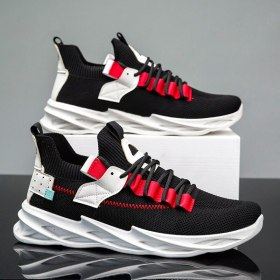 2021 New Men Sneakers Breathable Outdoor Sport Fashion Comfortable Casual Couples Gym Mens black Shoes tenis zapatos de hombre