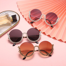 Gorgeous, diamond inlaid, sunglasses, sunglasses