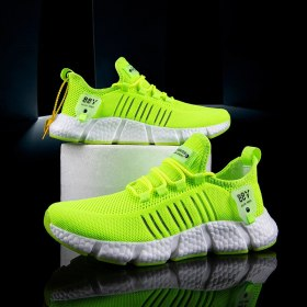 Designer Men Causal Shoes Breathable Men's Sneakers Lace-up Lightweight Sneaker Man Comfortable White Tennis Shoes 2021 Summer