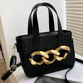 Chain bag, portable, chain bag, diagonal span, small square bag