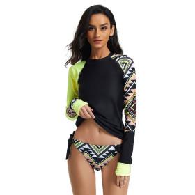 Split, long sleeve, surf suit, sunscreen, swimsuit