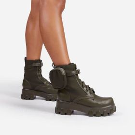 Lace up, lightweight, short tube, muffin, thick bottom, buckle Martin boots