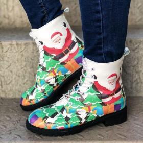 Santa Claus, Martin boots, women's shoes