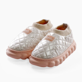 Cotton slippers, thick bottom, soft bottom, indoor, waterproof, cotton shoes