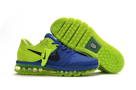 AIR MAX 2017 RUNNING BLUE SHOES