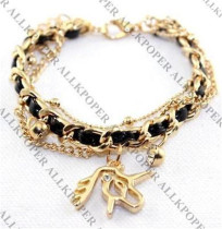 Christmas Give Away KPOP EXO EXO-M Lay Chain Bracelet Overdose Wristband Alloy Constellation