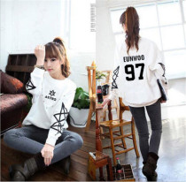 ALLKPOPER KPOP ASTRO ROCKY Sweater Women New Hoodie JINJIN EUNWOO Long Sleeve Jumper
