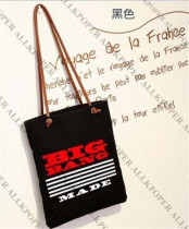 ALLKPOPER KPOP Bigbang GD Handbag G-Dragon TOP Taeyang Seungri Shopping Bag