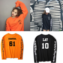 ALLKPOPER KPOP EXO Sweater Women Men Hoodie Chanyeol Baekhyun Sweatershirt Pullover Xiumin