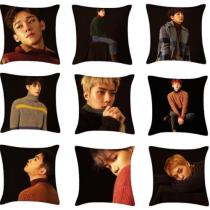 ALLKPOPER Kpop EXO For Life Throw Pillow Case Winter Special Square Cushion Bolster Cover