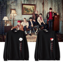 ALLKPOPER KPOP BAP Sweater B.A.P Rose Hoodie JONG UP Pullover Sweatershirt Long Sleeve