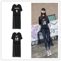 ALLKPOPER KPOP EXO Chanyeol Chiffon Long Skirt Fashion New Women Dress Baekhyun Xiumin Kai