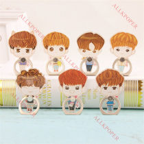 ALLKPOPER KPOP IKON Mobile Phone Stand Holder Bobby Finger Ring Grip JUNHOE JINHWAN