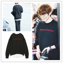 ALLKPOPER Kpop EXO CHANYEOL Sweatershirt False Two Hoody 2017 New Pullover Sweater