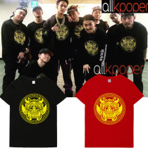 ALLKPOPER Kpop VIXX RAVI Shangri-La T-shirt 4th Mini Album MV Dancing Tshirt Casual Tee