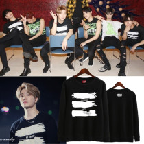 Allkopoper KPOP GOT7 Sweater MY SWAGGER Concert Hoodie 2017 New Sweatershirt