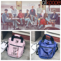 ALLKPOPER KPOP EXO Backpack Portable Bag Cute Bookbag Student Back to School Unisex Fashion XIUMIN CHEN SEHUN
