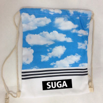 ALLKPOPER KPOP BTS Backpack WINGS Sky Drawstring Backpack for Sports Outdoor Travel Gym Bags Sack Pack Student Bangtan Boys