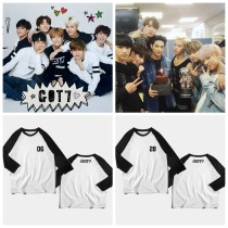 ALLKPOPER KPOP GOT7 Raglan Sleeve Sweater Three-quarter Sleeve Hoodie Hoody Casual Tops