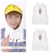 ALLKPOPER KPOP BTS RAP MONSTER Cap Hoodie Wings Bangtan Boys Hoody Pullover Sweatershirt