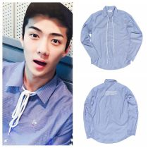 ALLKPOPER KPOP EXO SEHUN Shirt SBS POWER TIME Blouse THE WAR Underclothes 2017 Fashion