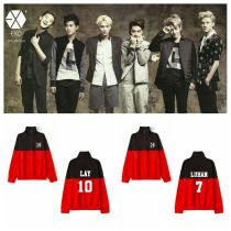 ALLKPOPER KPOP EXO Sweater The War Pullover LUHAN Casual Tops DO Sweatershirt CHANYEOL