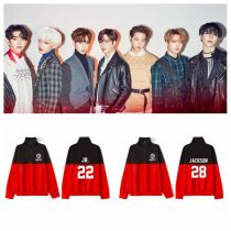 ALLKPOPER KPOP GOT7 Sweater 7 FOR 7 Pullover JACKSON Sweatershirt YUGYEOM Casual Tops