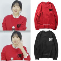 ALLKPOPER KPOP Girls' Generation TAEYEON Sweater Holiday Night Pullover Casual Letter Tops