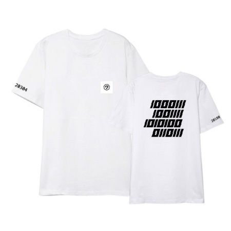 KPOP GOT7 T-Shirt Four Years FM Concert Tshirt Letter Tee Casual Tops Cotton