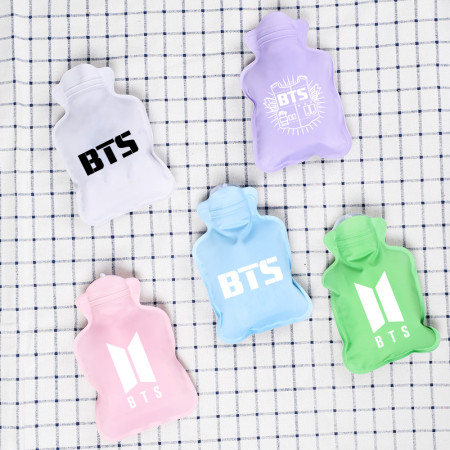 ALLKPOPER BTS Hot Water Bottle CHIMMY COOKY KOYA MANG BT21 Winter Water Bottle