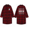 Kpop BTS Bangtan Boys Blouse Concert Red plaid Long section Early autumn coat Cardigan