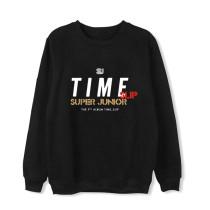 Kpop Super Junior Sweatshirt New Album Timeslip Round Neck Sweatshirt  DongHae Eunhyuk SungMin