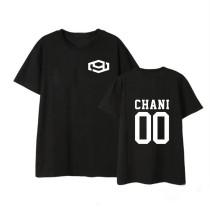 Kpop SF9 T-shirt LOGO Short Sleeve T-shirt DAWON HWIYOUNG INSEONG JAEYOON ROWOON CHANI TAEYANG YOUNGBIN ZUHO