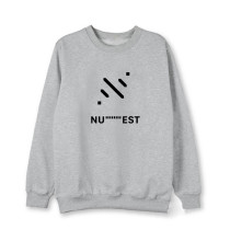 Kpop NU'EST SEVENTEEN Maintain Social Distance to Promote Round Neck Sweater Sweatershirt