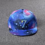 Kpop BTS Baseball Cap MAP OF THE SOUL7Adjustable Starry Sky Peaked cap Sun hat