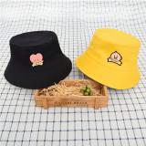 Kpop BTS Hat Bangtan Boys Double-sided Fisherman Hat Basin Hat Summer Leisure Sun Hat KOYA TATA