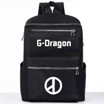 Kpop G-Dragon Schoolbag Campus Style Ulzzang Shoulder Backpack Student Canvas Bag