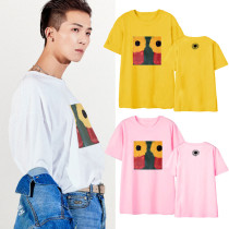 Kpop Winner T-shirt MINO same Short-sleeved T-shirt Korean Version Loose Fashion Casual Short-sleeved