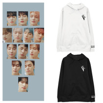 Kpop SEVENTEEN Sweater 2020 Online Concert Commemorative Hooded Sweater Plus Velvet Thin Coat Sweatershirt